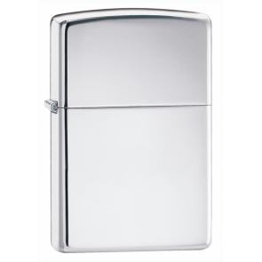 Зажигалка ZIPPO Armor™ c покрытием High Polish Chrome, латунь/сталь, серебристая, 37х13x58 мм